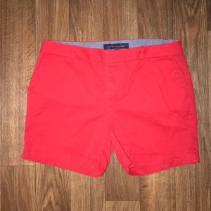 ⛄️red tommy shorts
